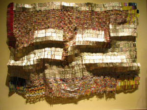 El Anatsui_Between Earth and Heaven_2006