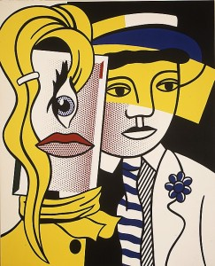 Roy Lichtenstein_Stepping Out_1978