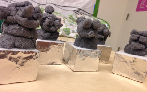 TN-Picasso's Organic Shaped Stone Clay busts