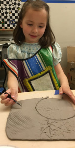 adding textures to our clay slabs copy