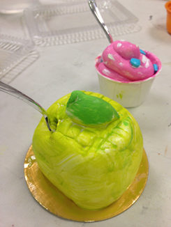 Just Desserts! Wayne Thiebaud inspired Food Art Sculpture from our Studio Class